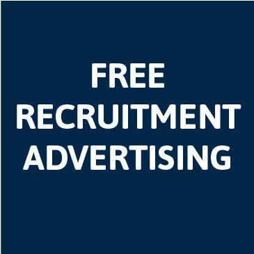Free recruitment advertising for members